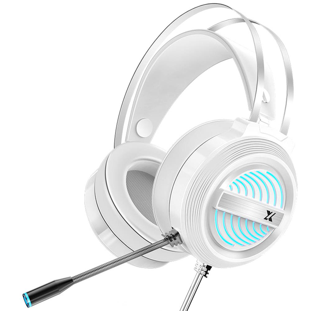 headphones Heir Audio X9 Gaming Headset 7.1Channerl 50mm Unit RGB Colorful Light 4D Surround Sound Ergonomic Design 360 Omnidirectional Noise Reduction Microphone HOB1774924 1 1