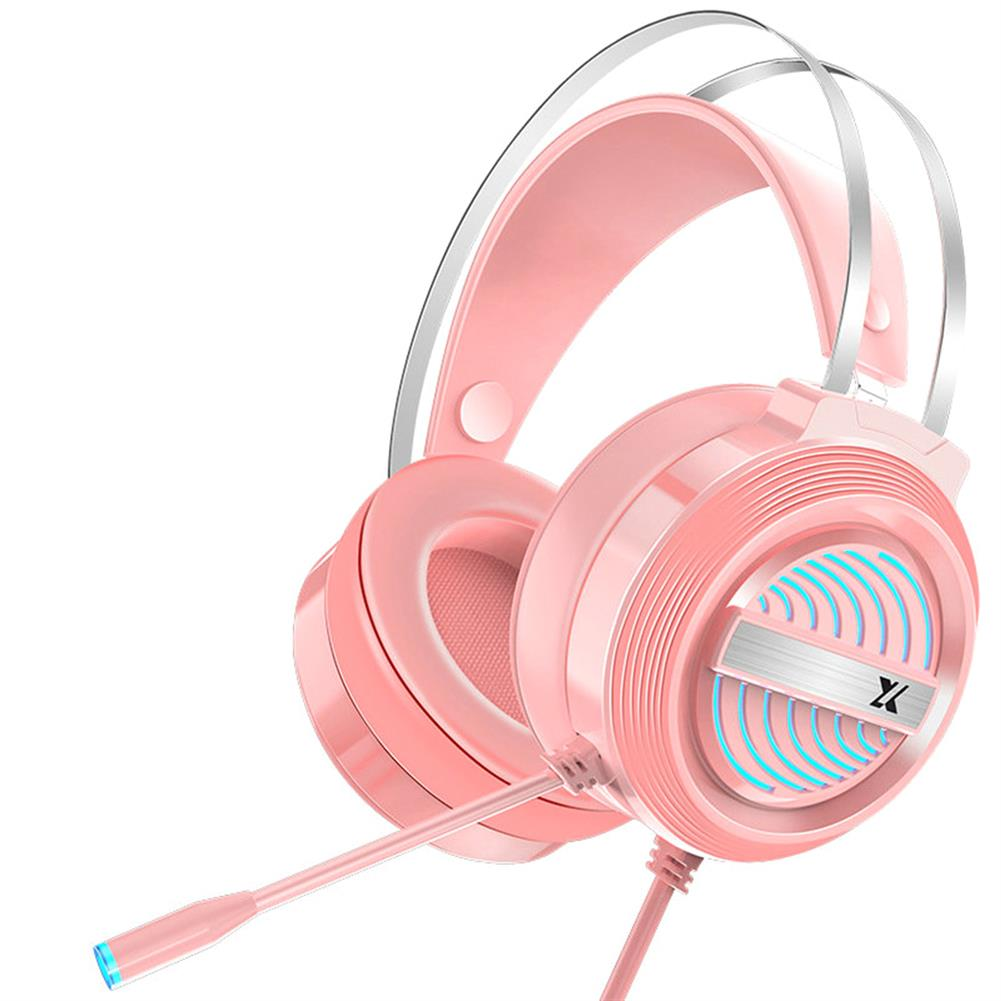 headphones Heir Audio X9 Gaming Headset 7.1Channerl 50mm Unit RGB Colorful Light 4D Surround Sound Ergonomic Design 360 Omnidirectional Noise Reduction Microphone HOB1774924 2 1