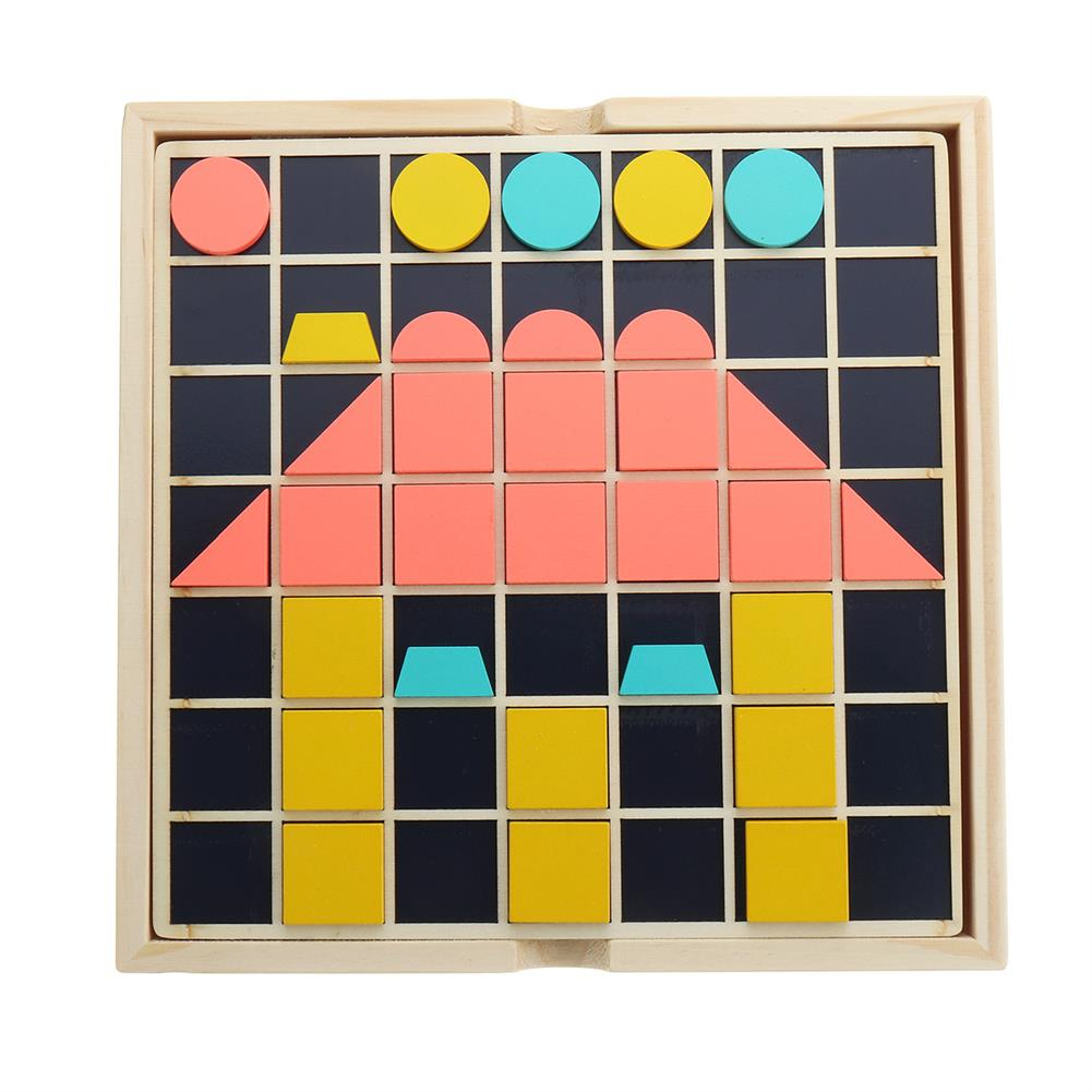 other-learning-office-supplies Children Wooden Materials Learning Toy To Count Numbers Matching Digital Shape Match Early Education Teaching Math Toys for Kids HOB1775516 2 1