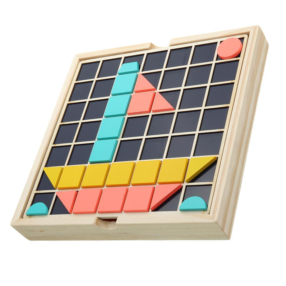 other-learning-office-supplies Children Wooden Materials Learning Toy To Count Numbers Matching Digital Shape Match Early Education Teaching Math Toys for Kids HOB1775516 3 1