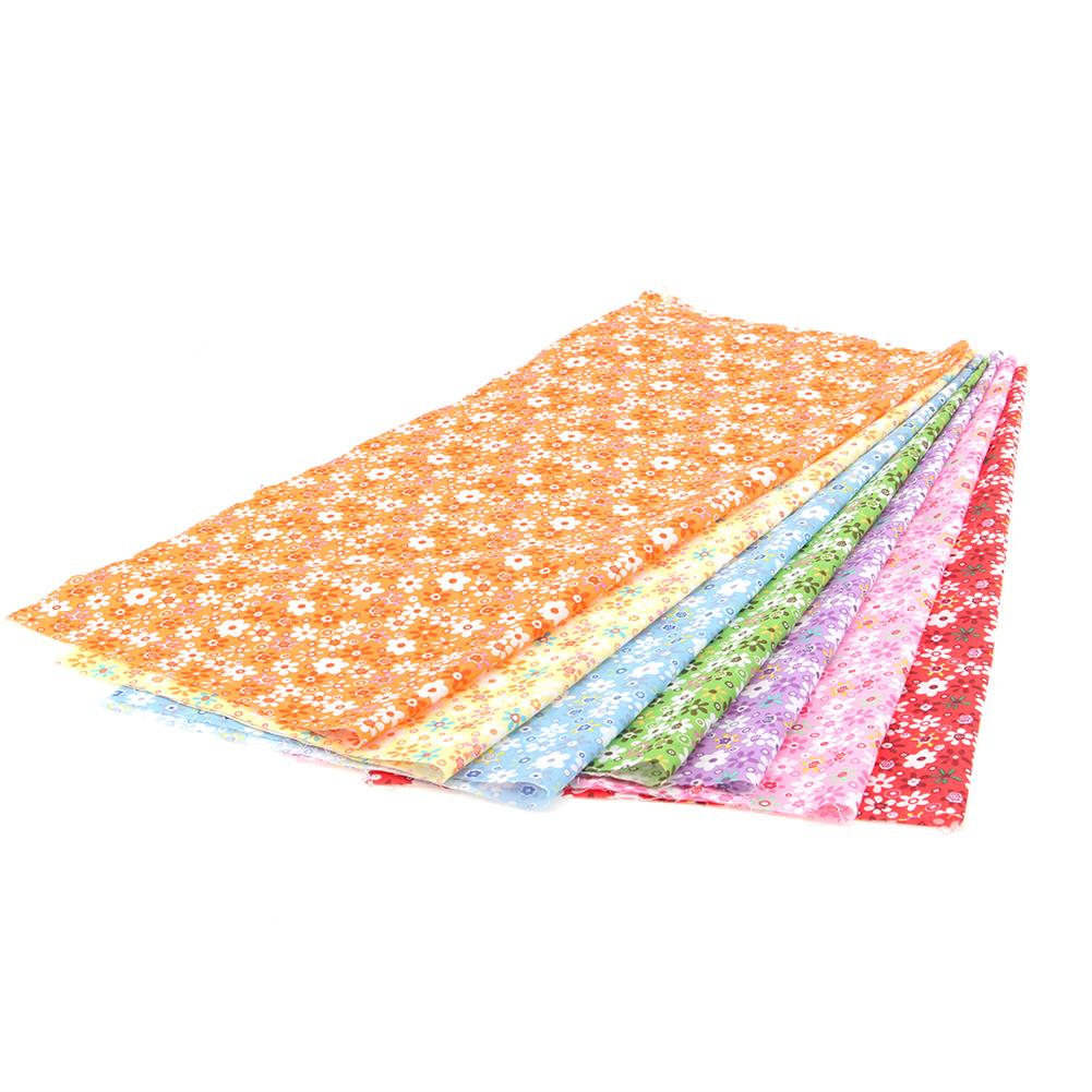 other-learning-office-supplies 7Pcs Cutton Cloth Set Colorful 7 Different Pattern Cloth Fabric DIY Cloth Making & Repairing Material for Home HOB1776487 1