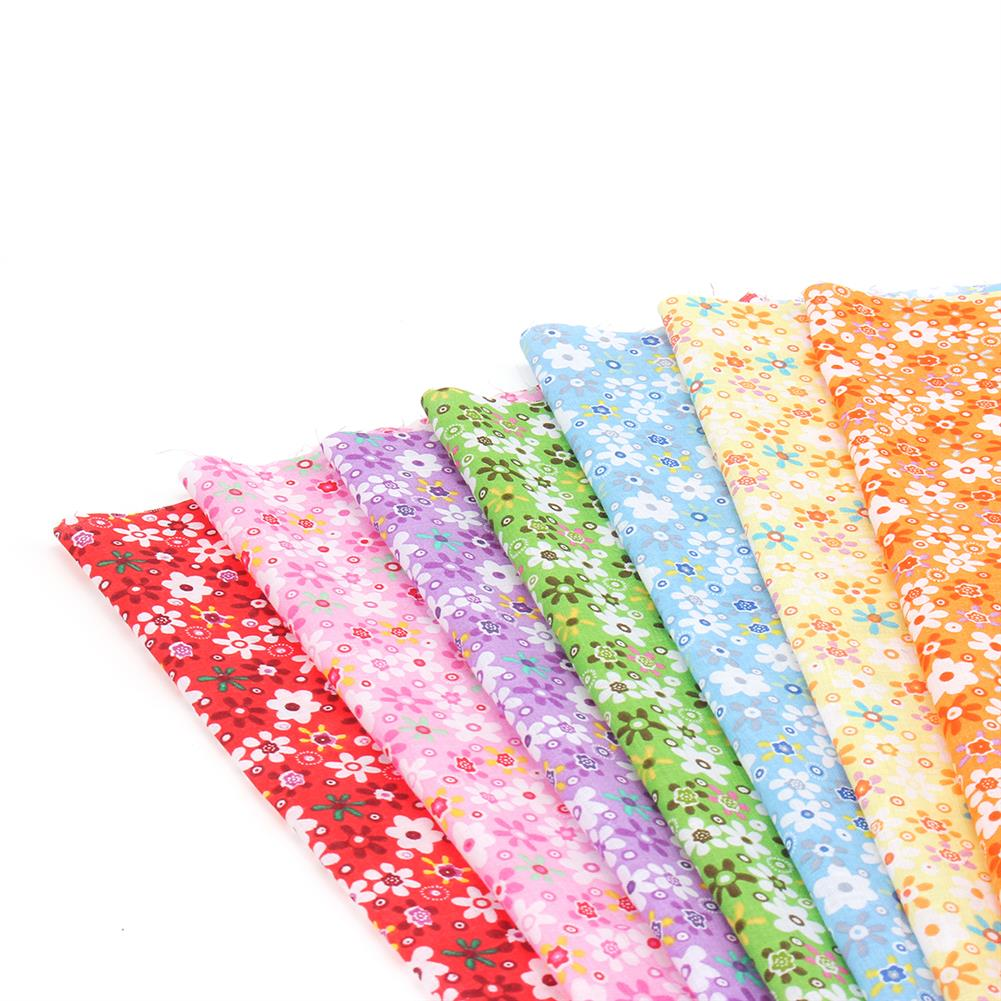 other-learning-office-supplies 7Pcs Cutton Cloth Set Colorful 7 Different Pattern Cloth Fabric DIY Cloth Making & Repairing Material for Home HOB1776487 1 1