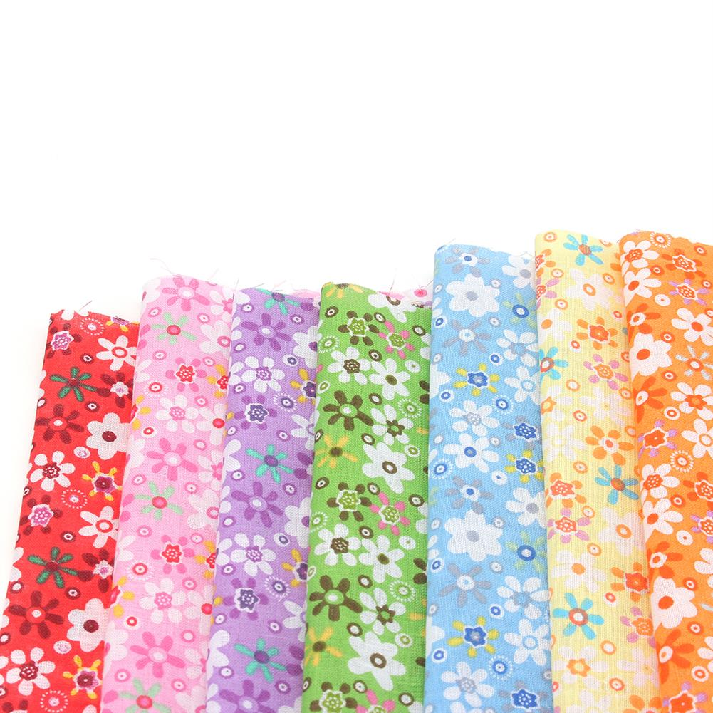 other-learning-office-supplies 7Pcs Cutton Cloth Set Colorful 7 Different Pattern Cloth Fabric DIY Cloth Making & Repairing Material for Home HOB1776487 2 1