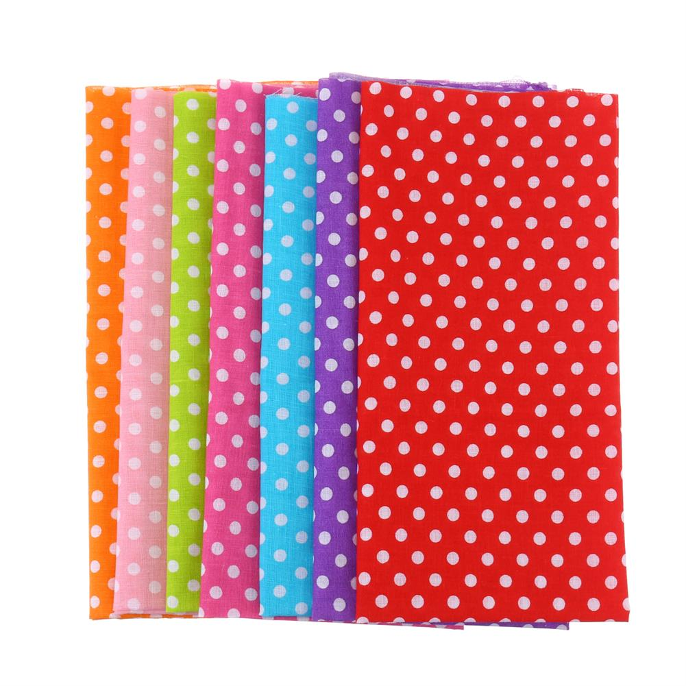 other-learning-office-supplies 7Pcs Cutton Cloth Set 50x50cm Colorful 7 Different Pattern Cloth Fabric DIY Cloth Making & Sewing Material for Home HOB1776494 1