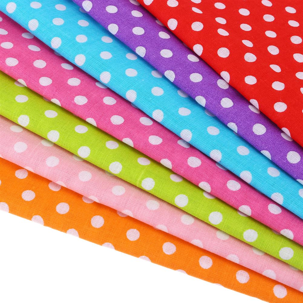 other-learning-office-supplies 7Pcs Cutton Cloth Set 50x50cm Colorful 7 Different Pattern Cloth Fabric DIY Cloth Making & Sewing Material for Home HOB1776494 2 1