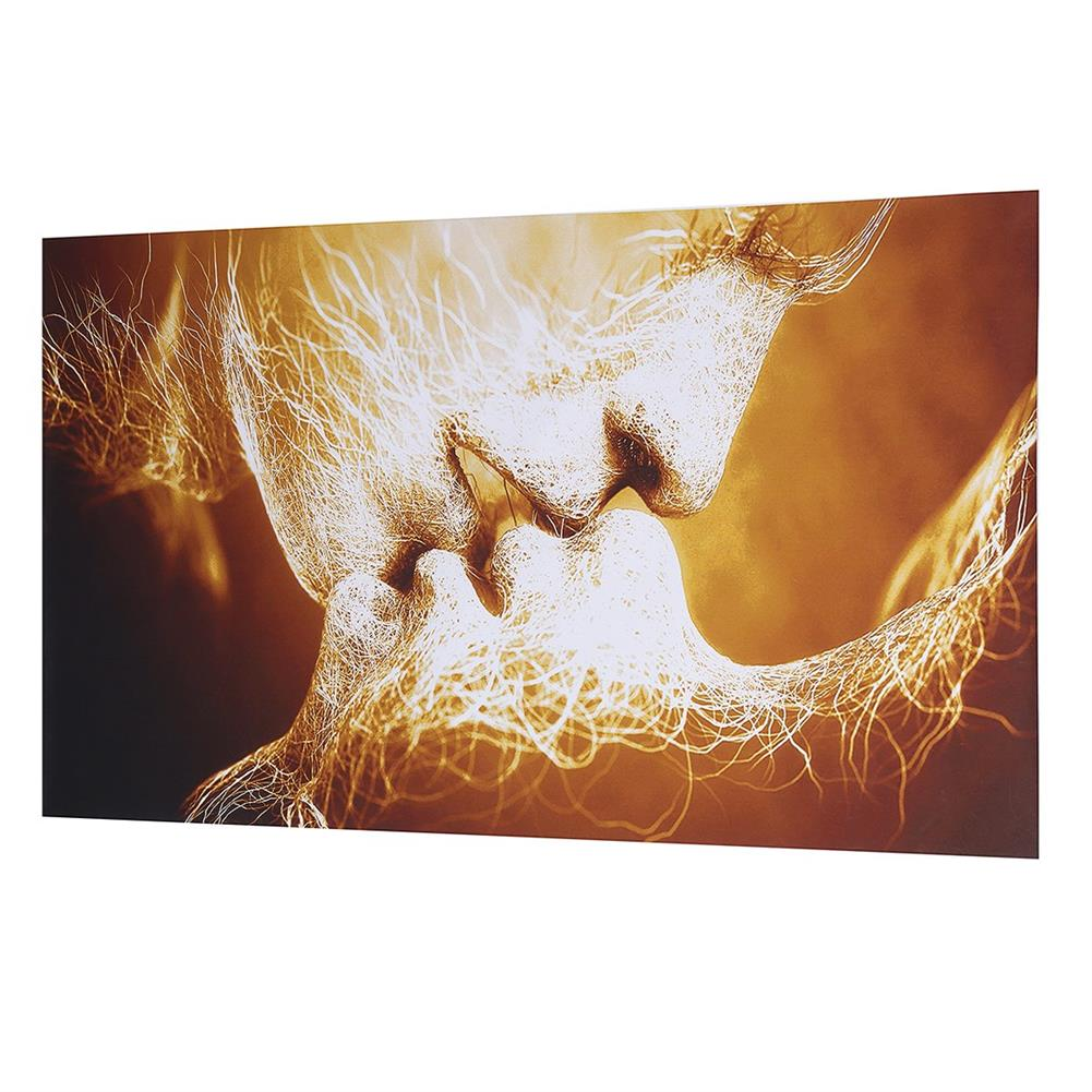 other-learning-office-supplies Canvas Print Painting Frameless Goldren Lver`s Kiss theme Canvas Painting Abstract Art Wall Hanging Tapestry for Home Decoration HOB1776506 1