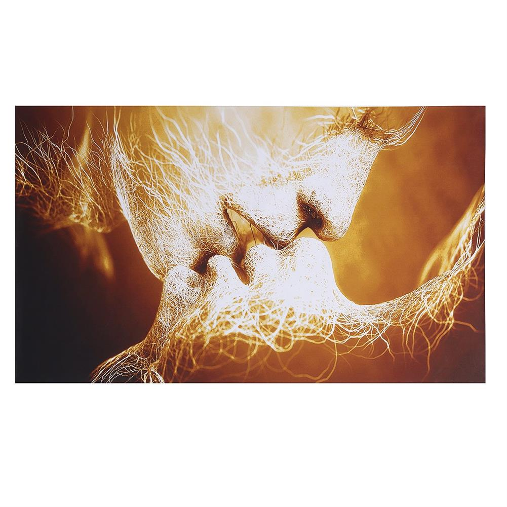 other-learning-office-supplies Canvas Print Painting Frameless Goldren Lver`s Kiss theme Canvas Painting Abstract Art Wall Hanging Tapestry for Home Decoration HOB1776506 1 1