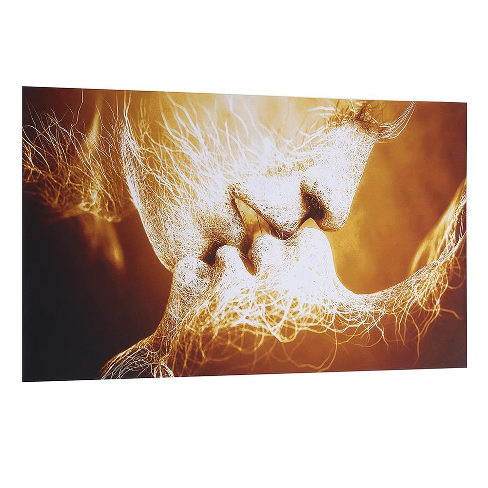 other-learning-office-supplies Canvas Print Painting Frameless Goldren Lver`s Kiss theme Canvas Painting Abstract Art Wall Hanging Tapestry for Home Decoration HOB1776506 2 1