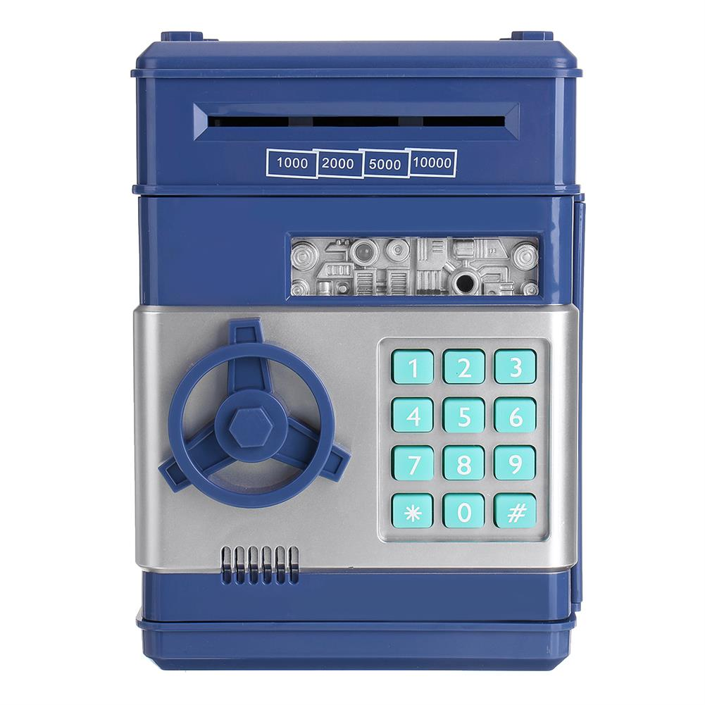 desktop-off-surface-shelves ATM Password Money Box Mini Safe Code Key Coins Cash Saving Piggy Bank Gift Creative Piggy Toys for Childrens HOB1776544 1 1