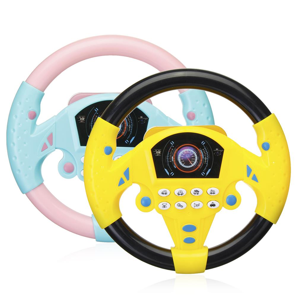 other-learning-office-supplies Children`s Simulated Sterring Wheel Toy Plastic Multifunctional Steering Wheel Children Early Education IQ Development Toy HOB1776678 1