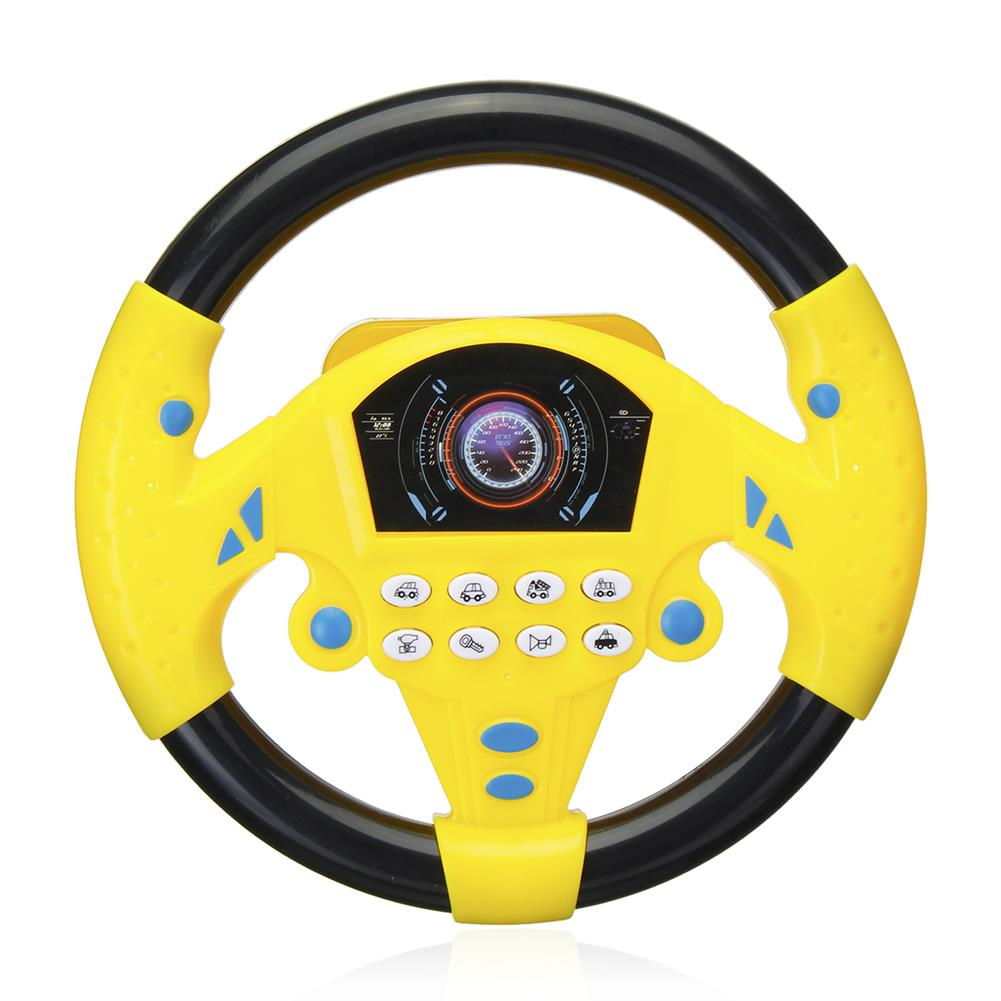 other-learning-office-supplies Children`s Simulated Sterring Wheel Toy Plastic Multifunctional Steering Wheel Children Early Education IQ Development Toy HOB1776678 3 1