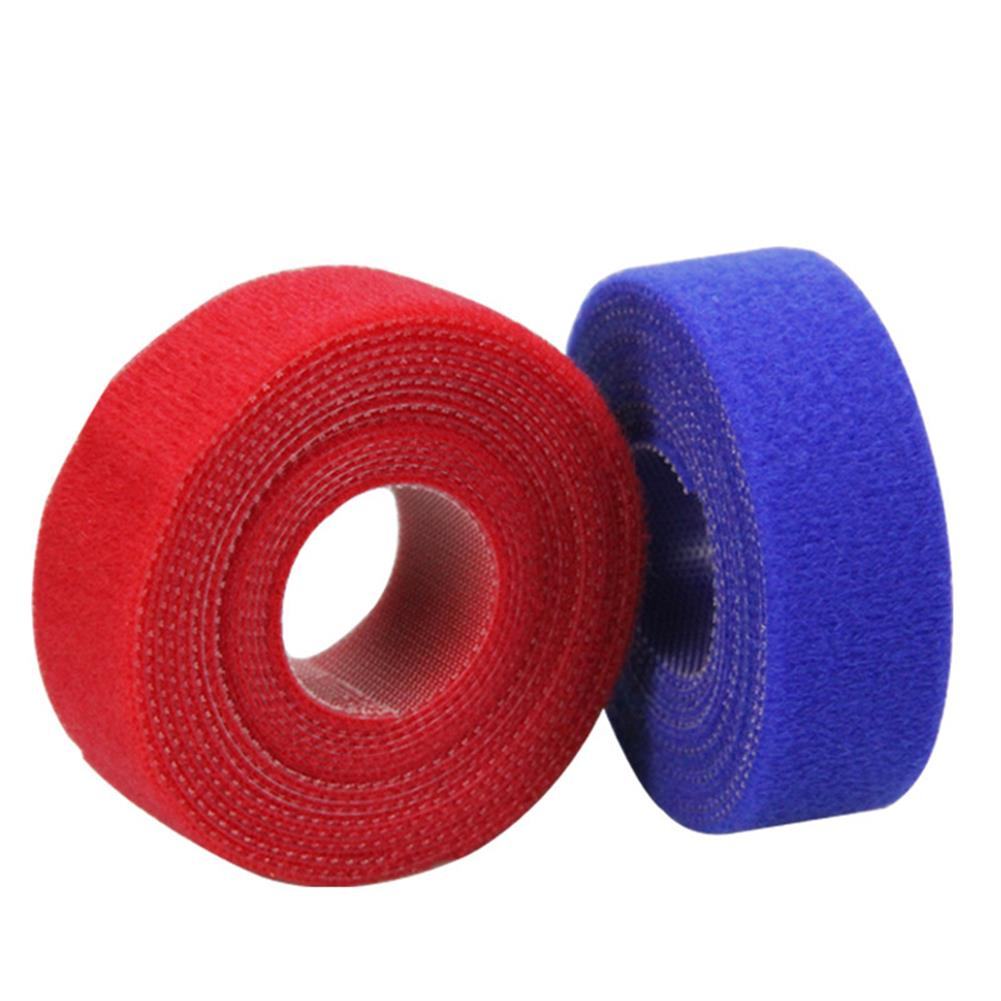stationery-tape Derunda Line Mangement Tape Nylon 2M 5 Colors with Hook Surface Tape Mouse Electronic Wire Curtain Pack Line HOB1776873 1 1