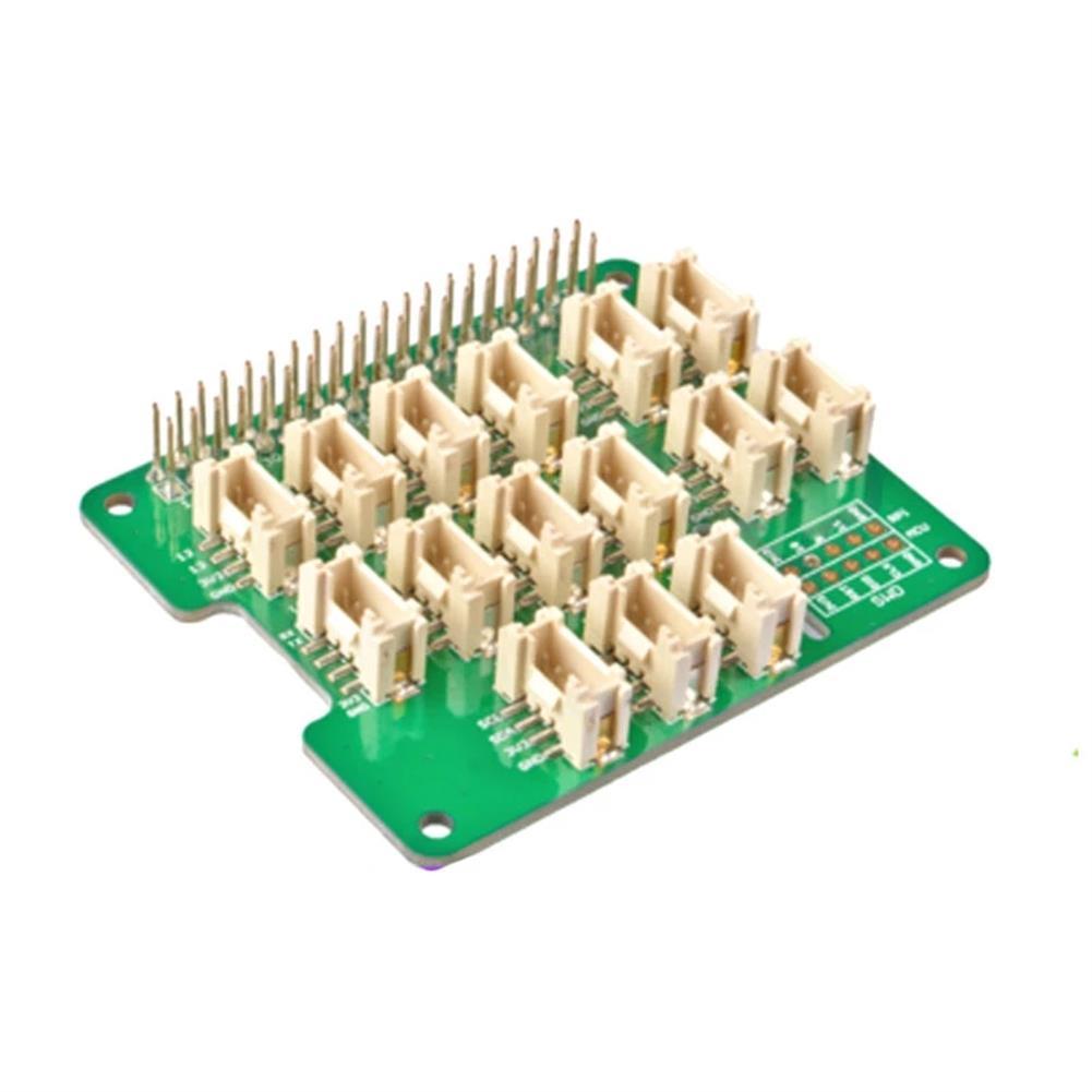 3d-printer-module-board Expansion Board for Grove Sensor MCU STM32 Grove Base Hat for Raspberry 2/3B/4/Zero HOB1777173 1