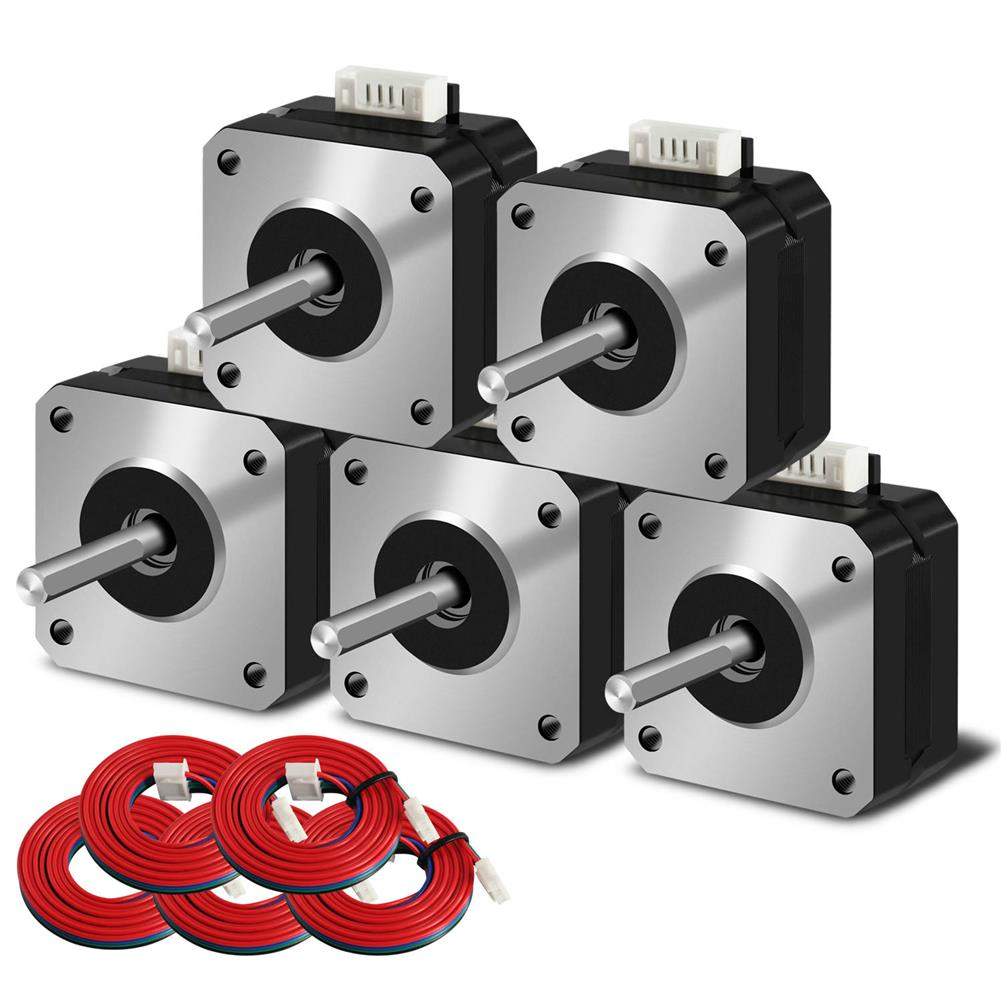 3d-printer-accessories SIMAX3D Phase 42-23 RepRap 42mm Stepper Motor for Ender-3 3D Printer HOB1777182 1
