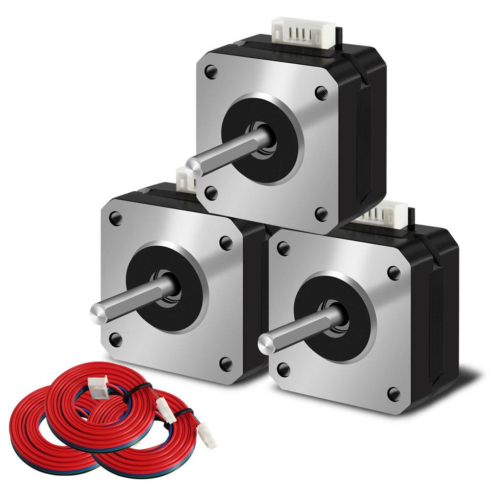 3d-printer-accessories SIMAX3D Phase 42-23 RepRap 42mm Stepper Motor for Ender-3 3D Printer HOB1777182 2 1