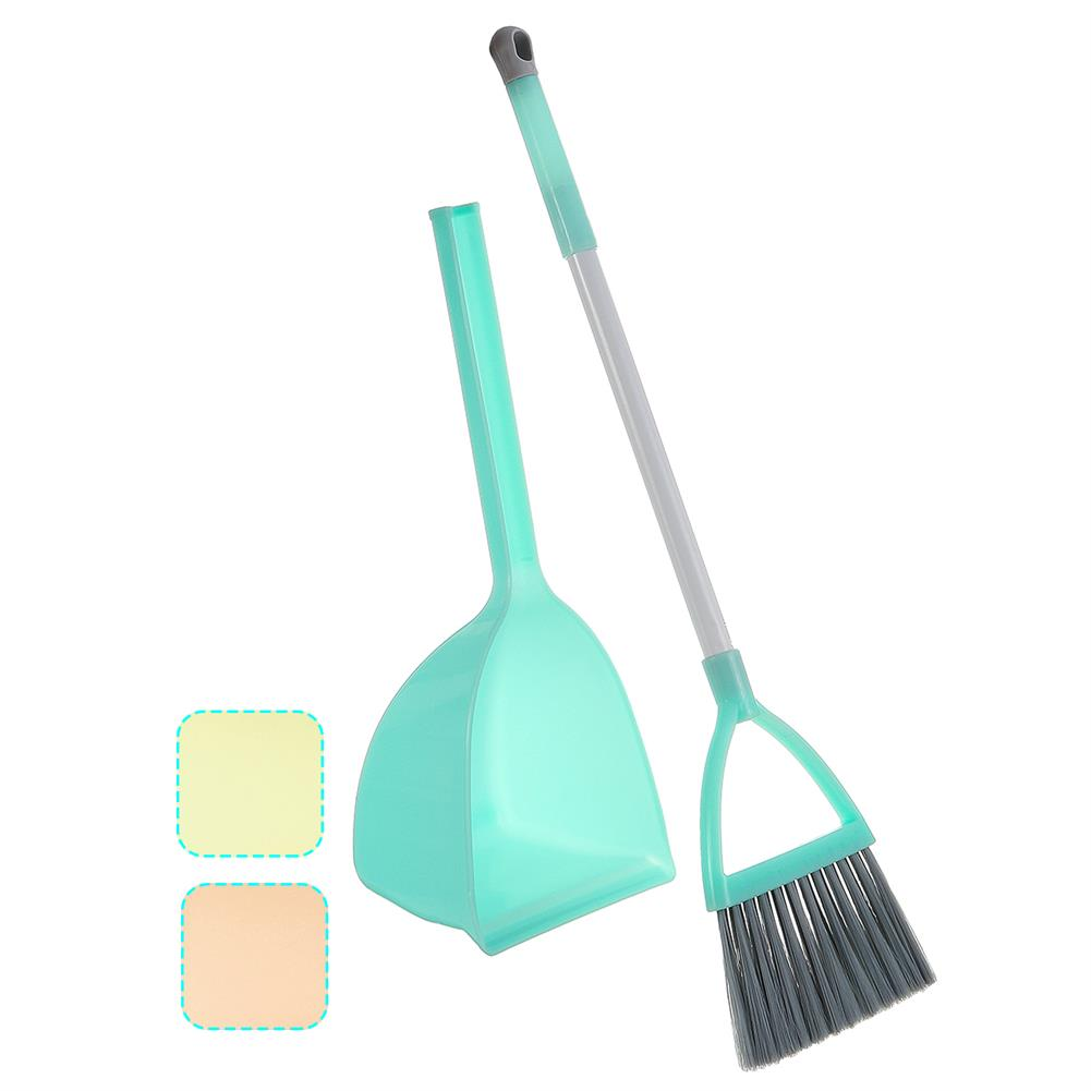 other-learning-office-supplies Kids Home Cleaning Tools Set Stretchable Floor Cleaning Mop Broom Dustpan House Playing Toys for Children Gift HOB1777344 1