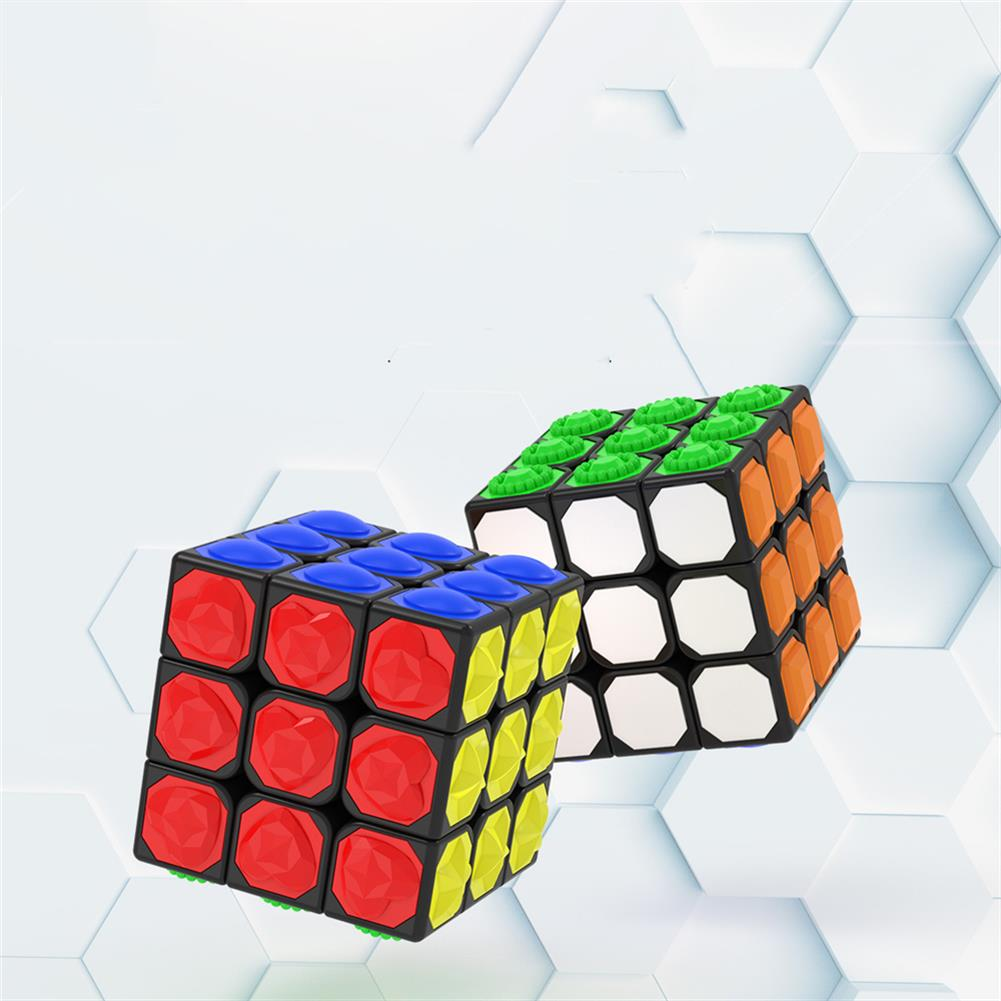 other-learning-office-supplies 3*3*3 Magic Cube Touch Professional Speed Game Magic Cube Early Educational Puzzle Toy for Children Adult Play HOB1777366 2 1