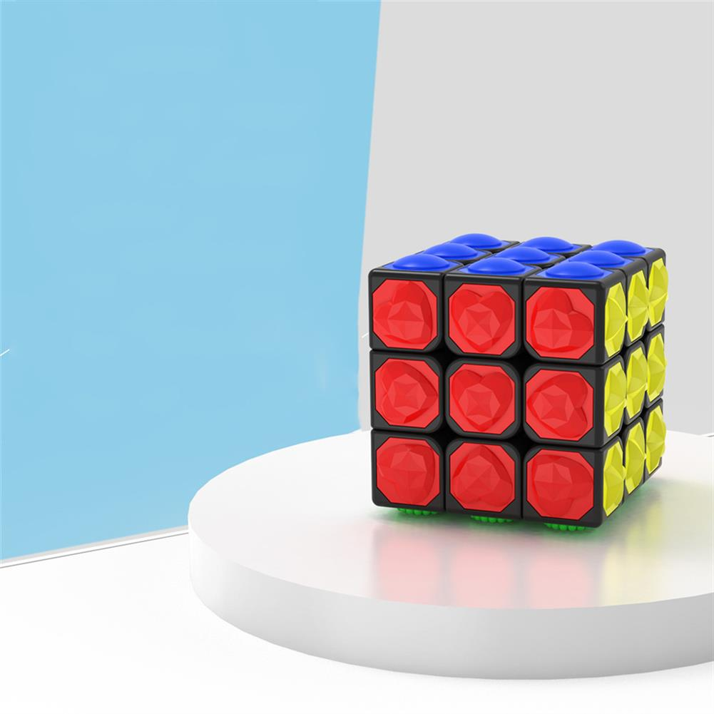 other-learning-office-supplies 3*3*3 Magic Cube Touch Professional Speed Game Magic Cube Early Educational Puzzle Toy for Children Adult Play HOB1777366 3 1