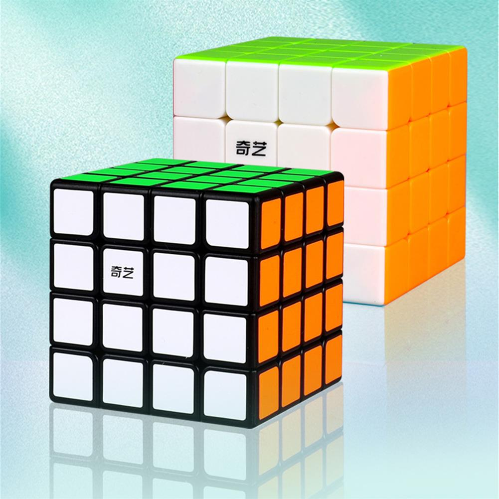 other-learning-office-supplies Qiyi 4*4*4 Magic Cube Touch Professional Beginner Speed Game Magic Cube Early Educational Puzzle Toy for Children Adult HOB1777410 1