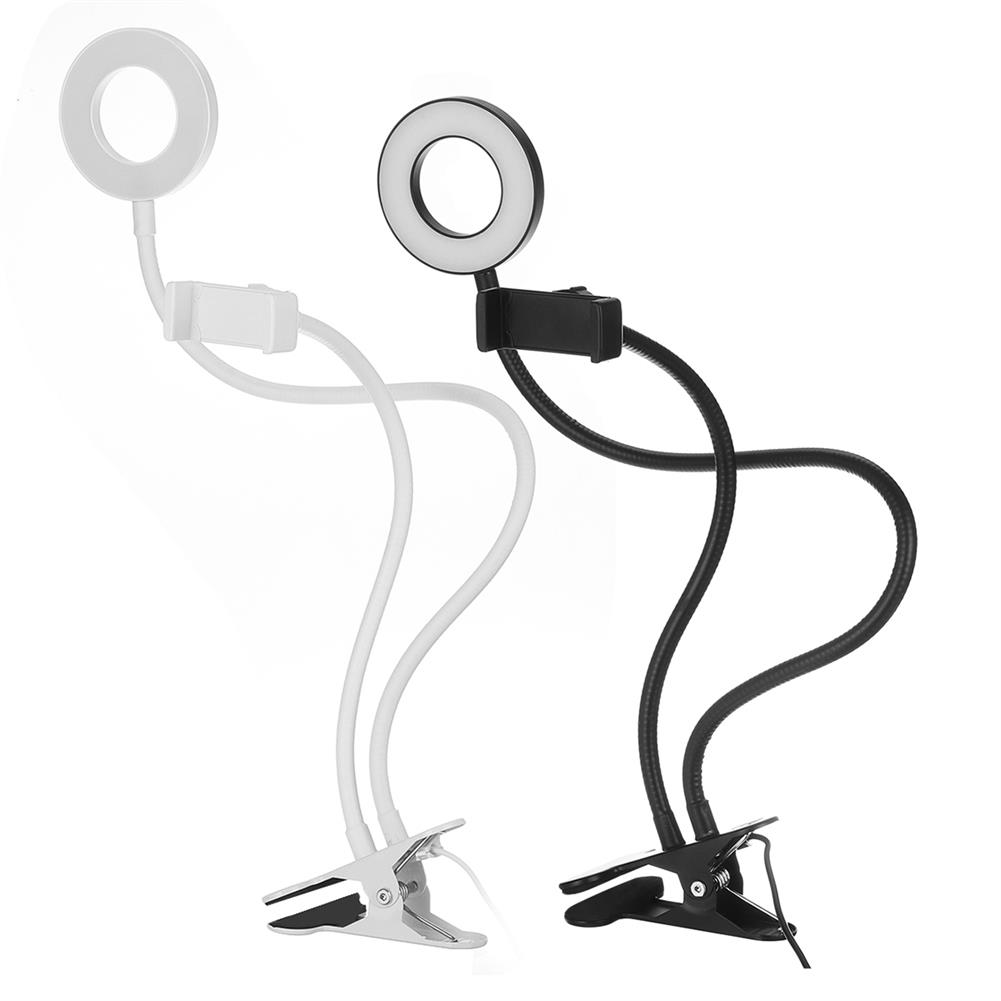 other-learning-office-supplies LED Beauty Light Stand 10 LED Lights Free Adjustable Stand Clip-on Streaming Light Replenishing Support Home office Illuminating Equipment HOB1777474 1
