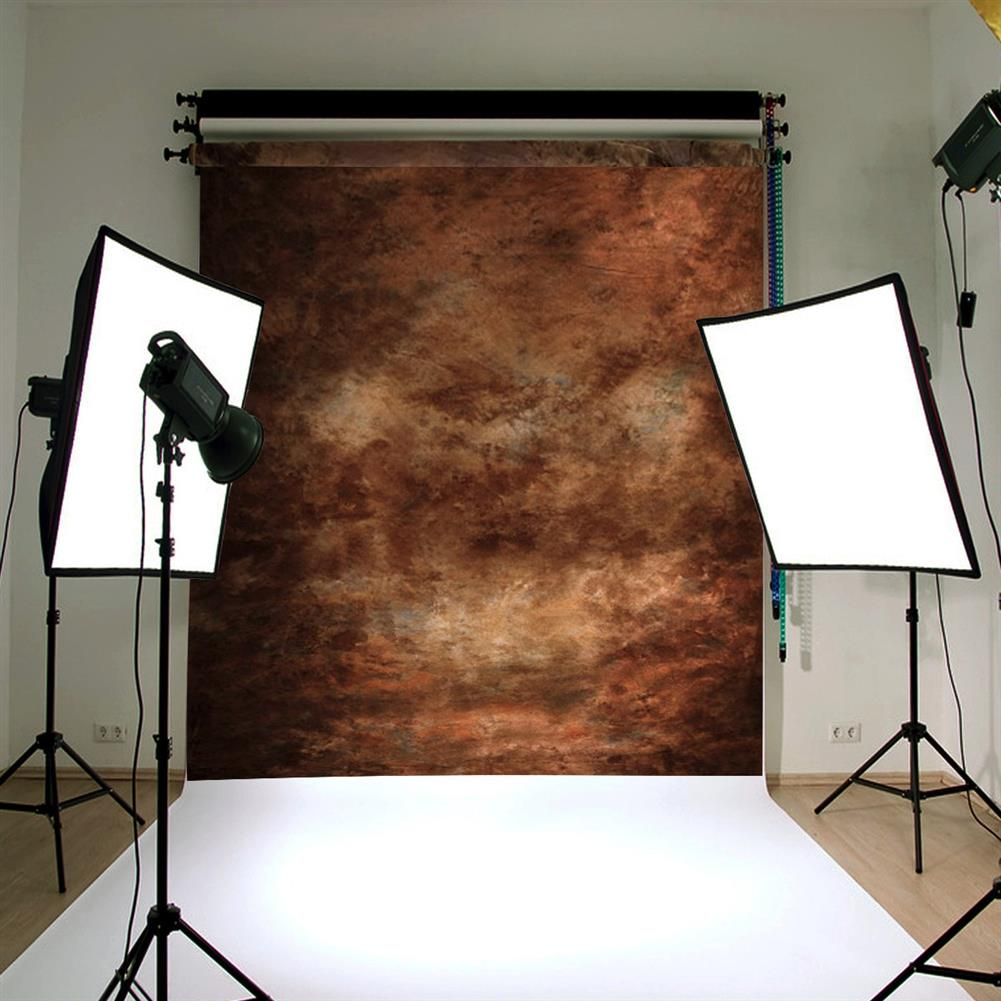 other-learning-office-supplies Abstract Brown Photography Backdrops Retro Tie Dye theme 90x150cm Cloth Prop Photo Background for Home office Studio HOB1777906 3 1