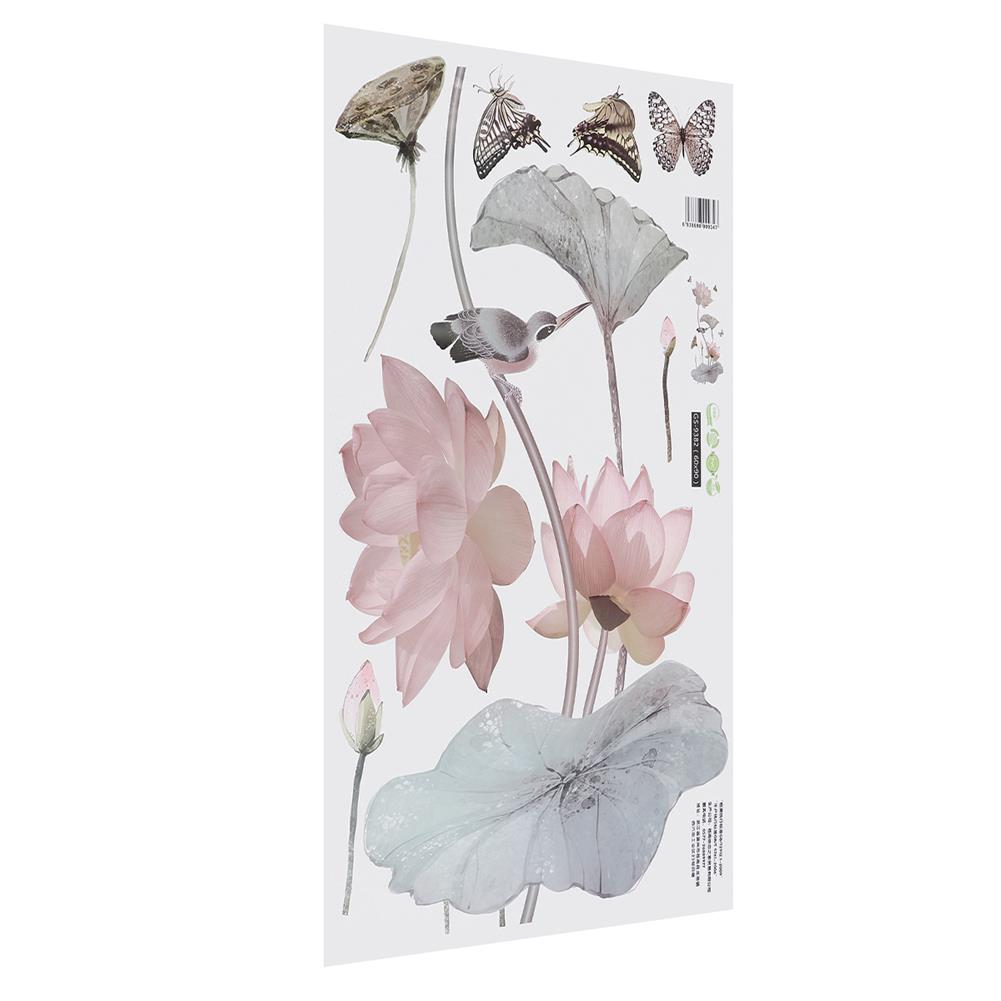 other-learning-office-supplies 3D Flower Wall Sticker Removable Waterproof PVC Wall Background Decorative Paper Wallpaper Home office DIY Decoration HOB1779306 2 1