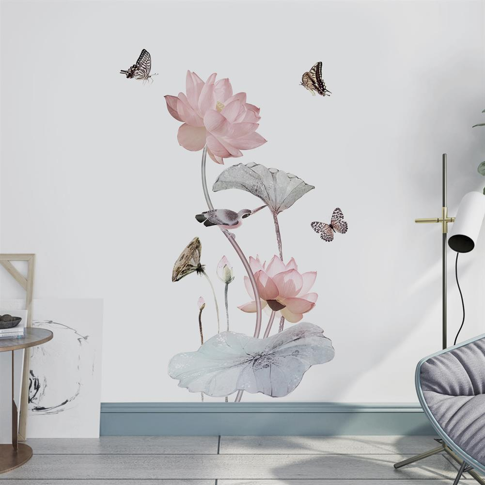other-learning-office-supplies 3D Flower Wall Sticker Removable Waterproof PVC Wall Background Decorative Paper Wallpaper Home office DIY Decoration HOB1779306 3 1