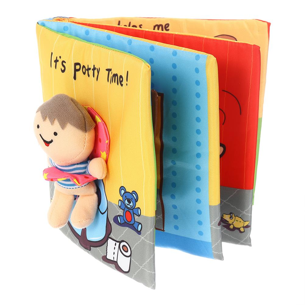 other-learning-office-supplies Tear-resistant Cloth Books for Baby Soft Nontoxic Fabric Early Children's Development Books Toys Gifts for Kids Toddlers infants HOB1779377 2 1