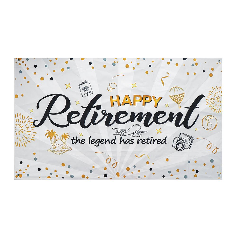other-learning-office-supplies Wall Hanging Tapestry Happy Retirement Photography Backdrop Retirement Party Supplies Favors Gifts Decorations HOB1779405 1