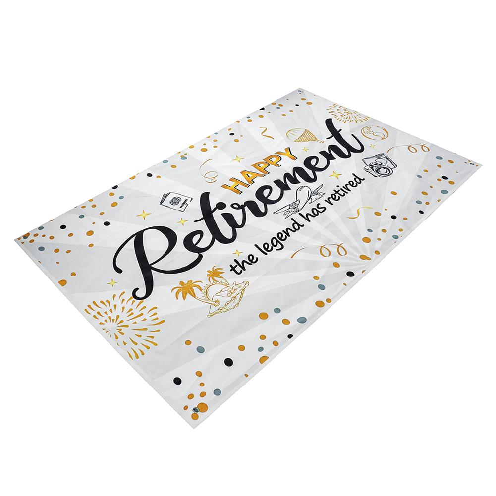 other-learning-office-supplies Wall Hanging Tapestry Happy Retirement Photography Backdrop Retirement Party Supplies Favors Gifts Decorations HOB1779405 1 1