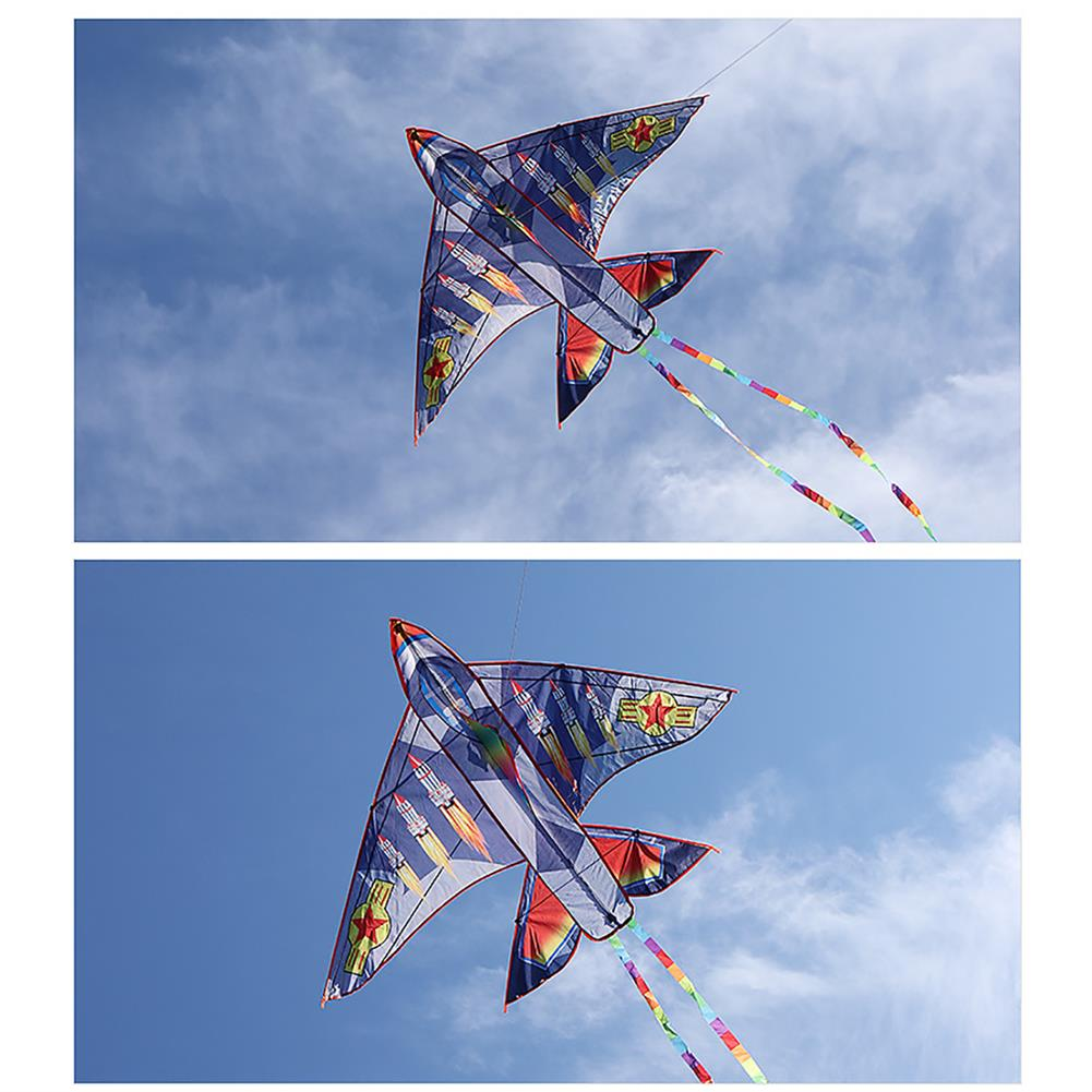 other-learning-office-supplies Airplane Shape Kites Kids Plane Kite 30M Single Line Kite Flying for Children Kids Outdoor Toys Beach Park Playing HOB1779431 2 1