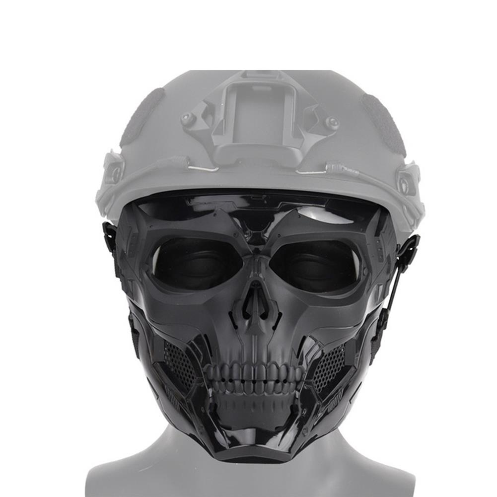 other-learning-office-supplies Cosplay Skull Mask Glass Fiber Nylon Impact Resistance Mask Airsoft Paintball Bicycle Combat Game Helmet for indoor Outdoor HOB1779537 2 1