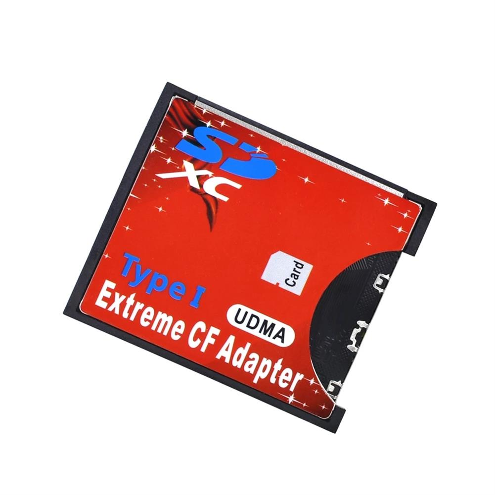card-readers TISHRIC Extreme CF Adapter SD to CF Card SDHC SDXC MMC Type I Adapter Memory Card Adapter Support Up 64G SD Card WiFi Adapter HOB1780401 1