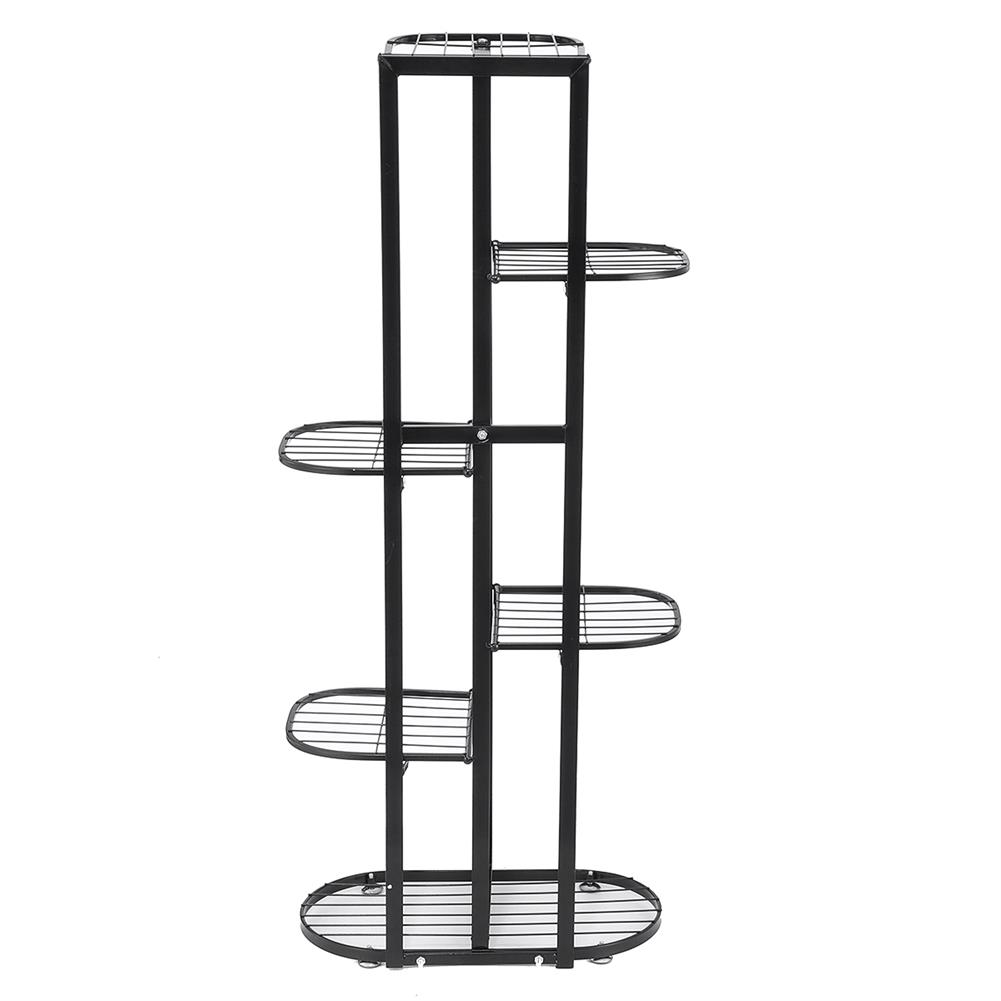 book-stands Simple indoor Flower Rack Potted Shelf Multi-layer Iron Plant Stand Lobby Display Flower Rack for Living Room Balcony HOB1780798 1 1