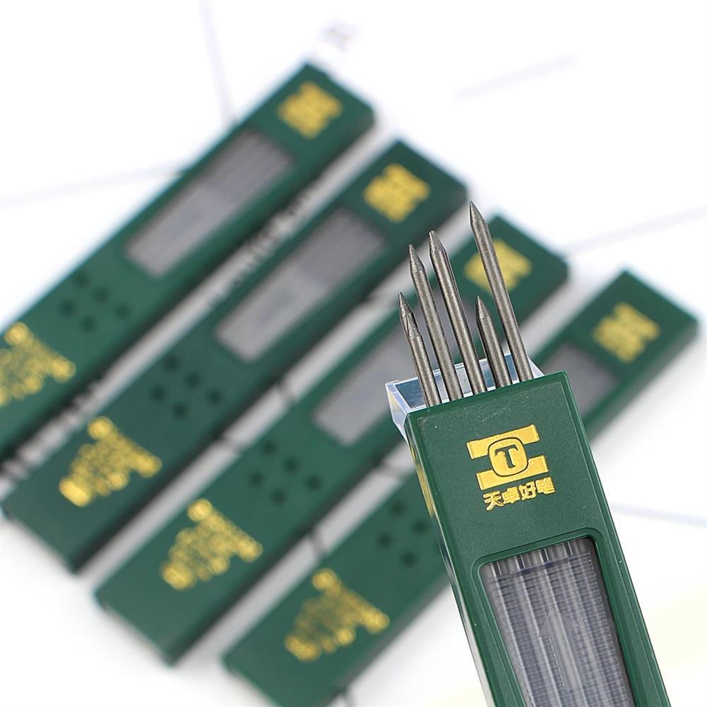 pencil TIZO GXH92230 2.0 2B/HB Graphite Lead 10pcs/box Automatic Pencil Replacement Core Mechanical Pencil Refill for School office Use HOB1781334 1