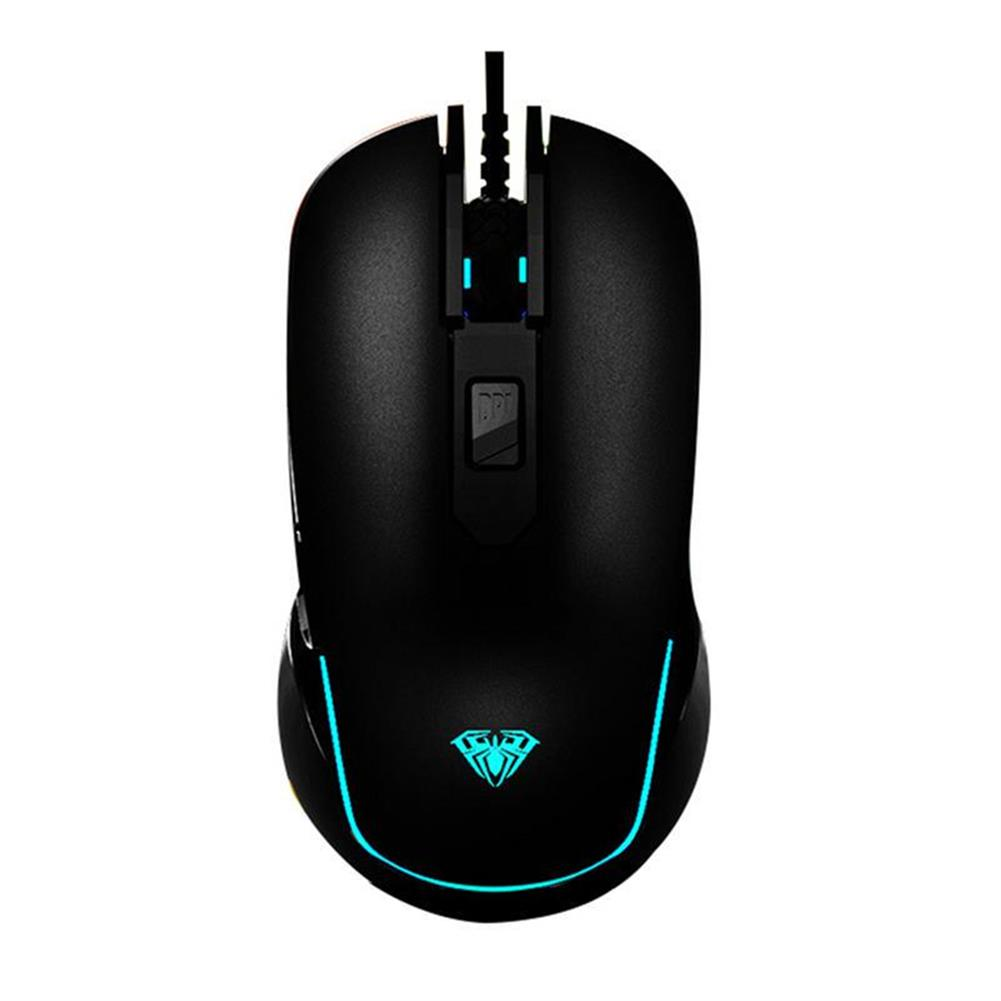 mouse AULA G502 SI-9018 Wired Gaming Mouse 3500DP l6-level DPI Adjustable Avago Customized Engine Gaming Mouse for PC Laptop HOB1781981 1