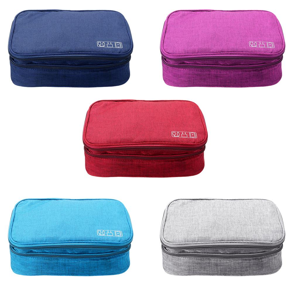 pc-gadgets Data Cable Storage Bag Multifunctional Digital Devices Stationery Case Portable Travel Electronic Pouch Earbuds Earphone Organizer HOB1782315 1