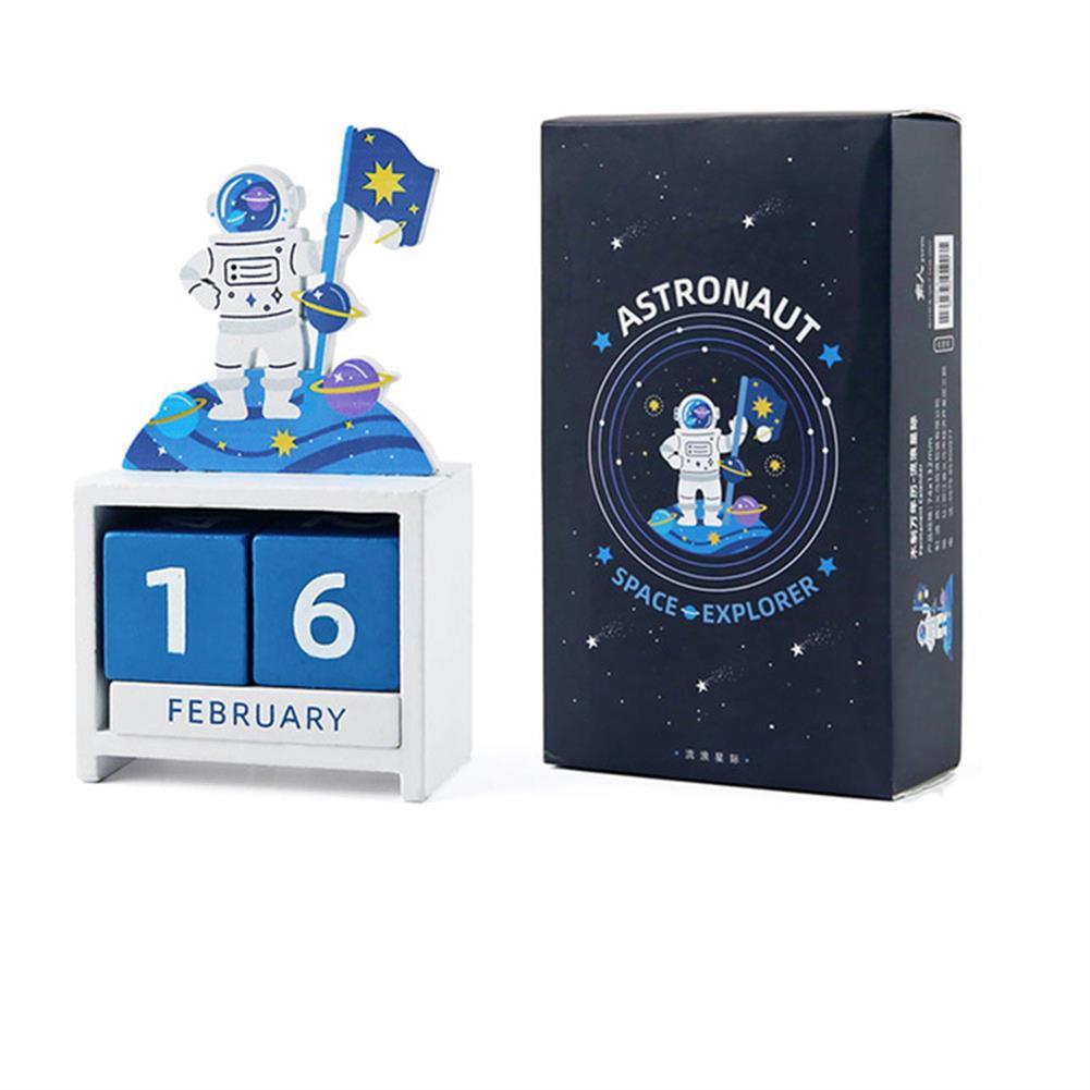 desktop-off-surface-shelves Wooden Calendar Desk Ornament Creative Countdown Calendar Decorations Gift Birthdays Party Ornaments Supplies HOB1782760 1 1