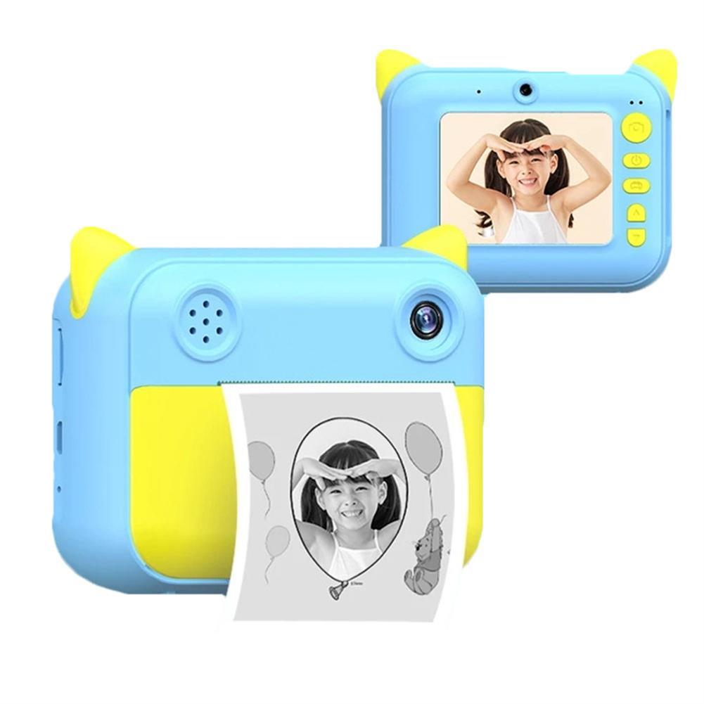 printers 4 roll Camera Printer Paper Free BPA Printing for Children 2.4inch Camera Printer Mini Photo Print for Boys Girls Toys HOB1782773 3 1
