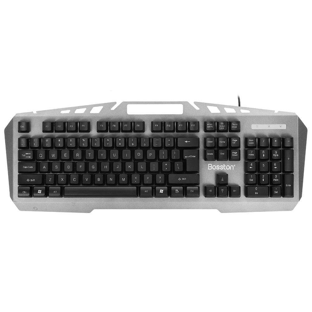 keyboards 104 Key Wired Mechanical Feel Keyboard and Mouse Set USB Backlight Desktop Computer Gaming Keyboard Gaming Mouse HOB1783017 2 1