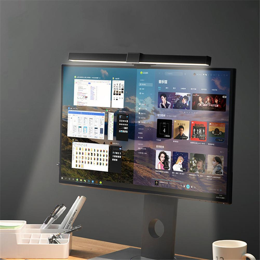 monitor USB Asymmetric Screen Hanging Light Eye Protection intelligent Computer Monitor Hanging Lamp for Reading Working HOB1783337 2 1