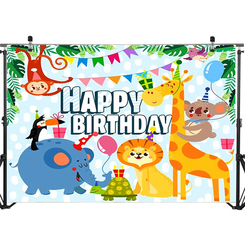 other-learning-office-supplies Photography Background Cloth cartoon Animal Birthday Props for Children's Photo Studio Home Wall Ornament Supplies HOB1785007 1