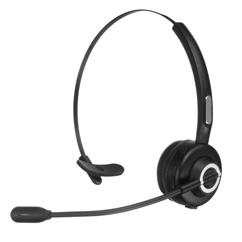 headphones Bluetooth 5.0 Business Headphones with Bass Mono Bluetooth Wireless Headset for Truckers Drivers and Business Worker HOB1785010 2 1