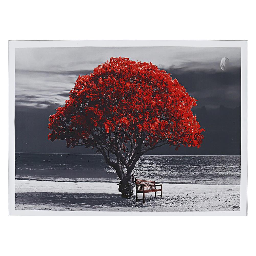 art-kit 1 Piece Big Tree Canvas Painting Wall Decorative Print Art Picture Unframed Wall Hanging Home office Decorations HOB1785043 1