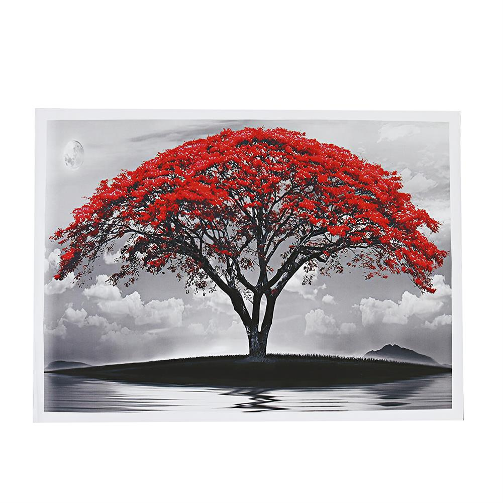 art-kit 1 Piece Big Tree Canvas Painting Wall Decorative Print Art Picture Unframed Wall Hanging Home office Decorations HOB1785043 1 1