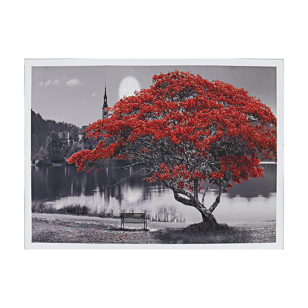 art-kit 1 Piece Big Tree Canvas Painting Wall Decorative Print Art Picture Unframed Wall Hanging Home office Decorations HOB1785043 2 1