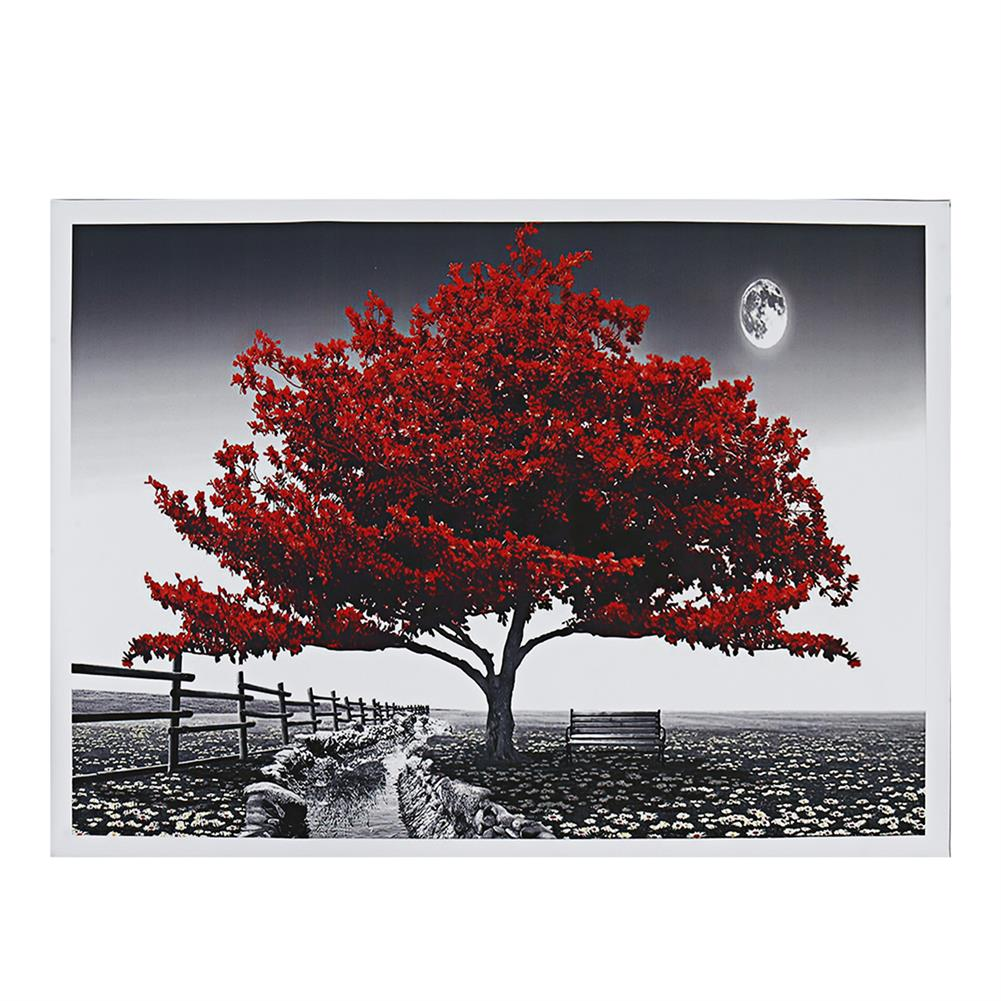 art-kit 1 Piece Big Tree Canvas Painting Wall Decorative Print Art Picture Unframed Wall Hanging Home office Decorations HOB1785043 3 1