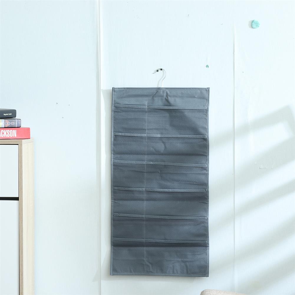 multi-function-folder, filing 30 Pockets Hanging Underwear Storage Bag Double Sided Wall Door Bra Socks Hanging Closet Wardrobe Organizer HOB1785497 2 1