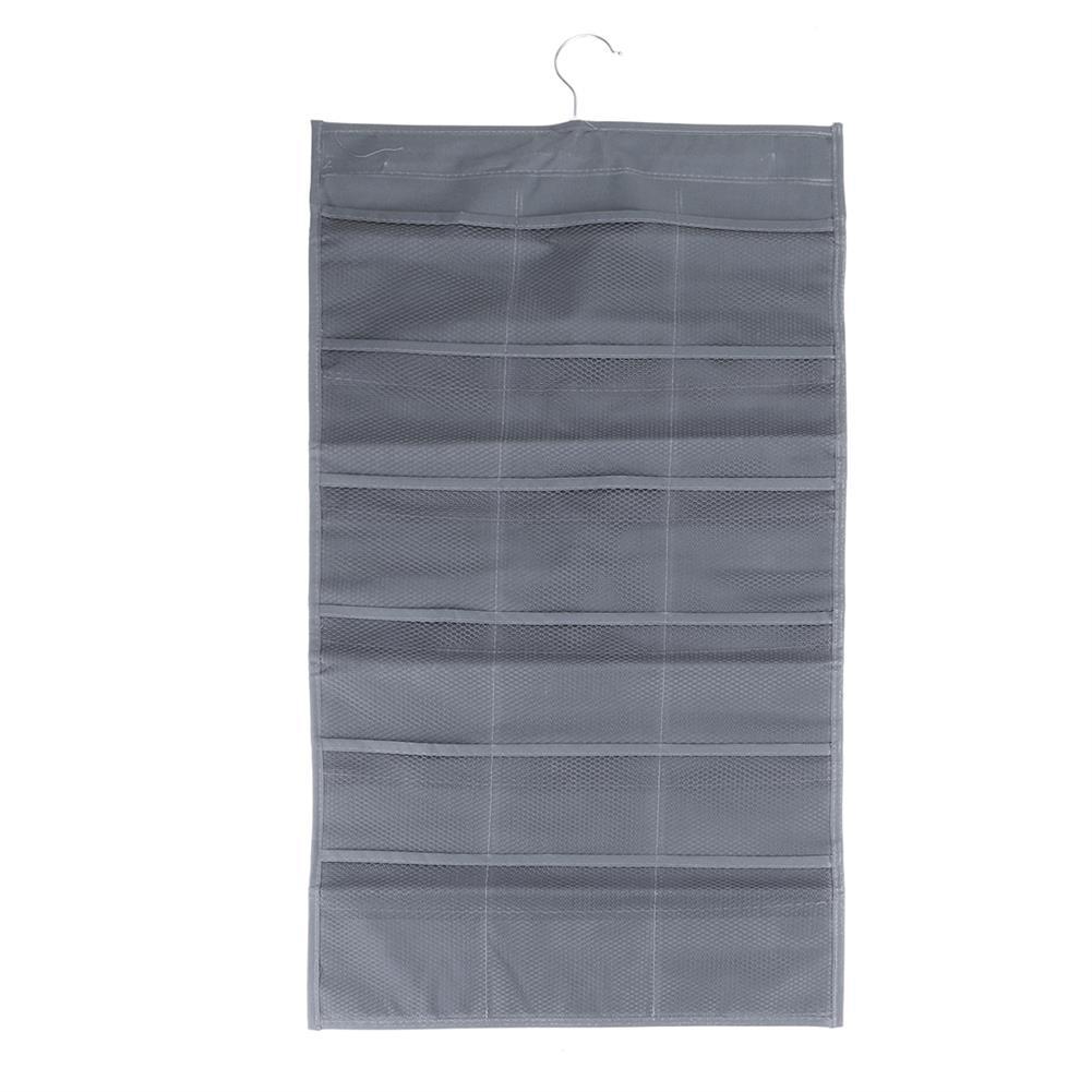 multi-function-folder, filing 30 Pockets Hanging Underwear Storage Bag Double Sided Wall Door Bra Socks Hanging Closet Wardrobe Organizer HOB1785497 3 1