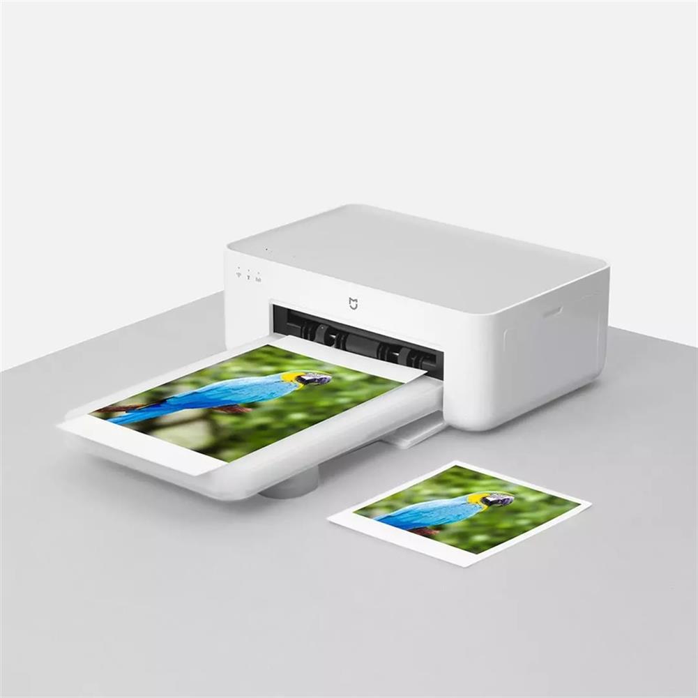 printers Original XIAOMI Photo Printers 1S Wireless High Definition Color Sublimation Portable Smart Printer APP Use Support 3/6 inch HOB1785599 1 1